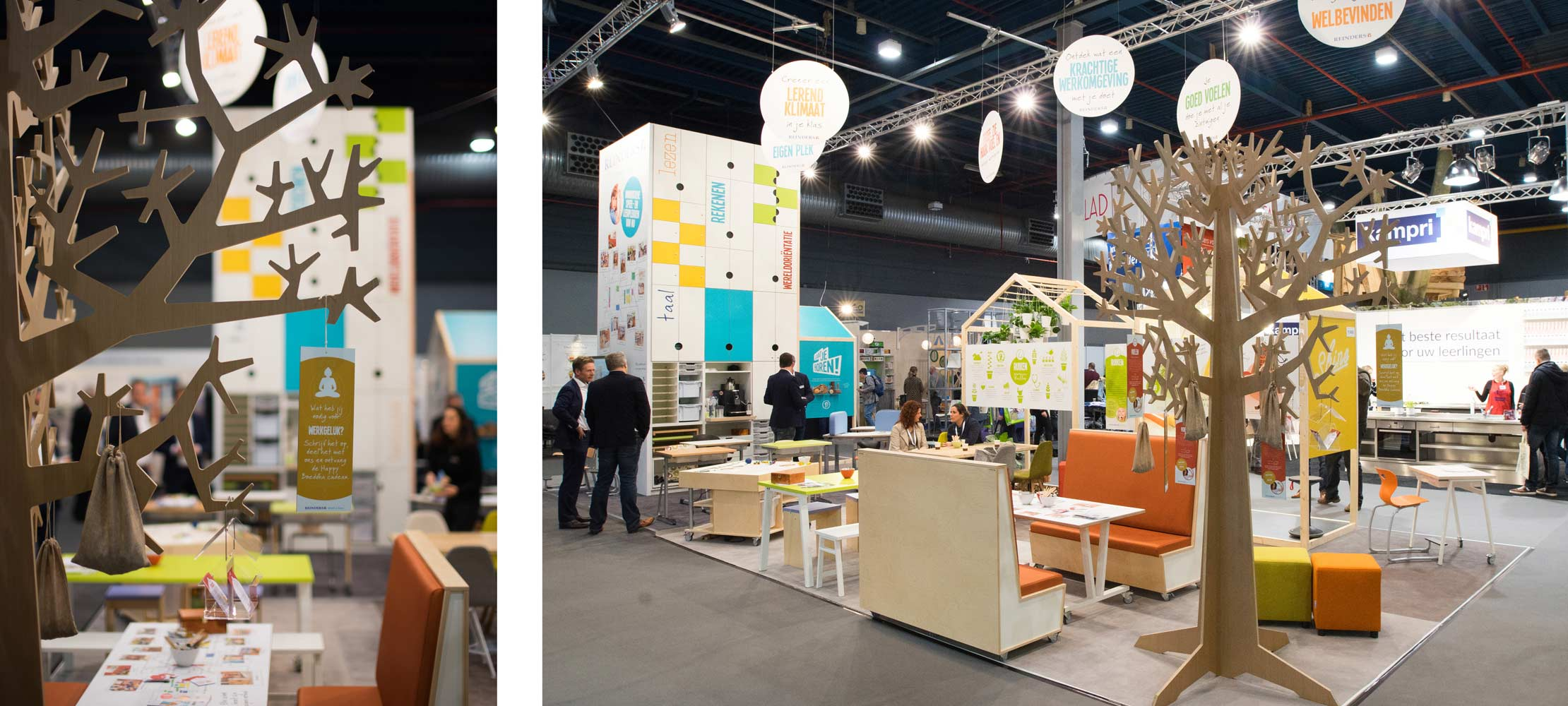 Stand Reinders - NOT beurs