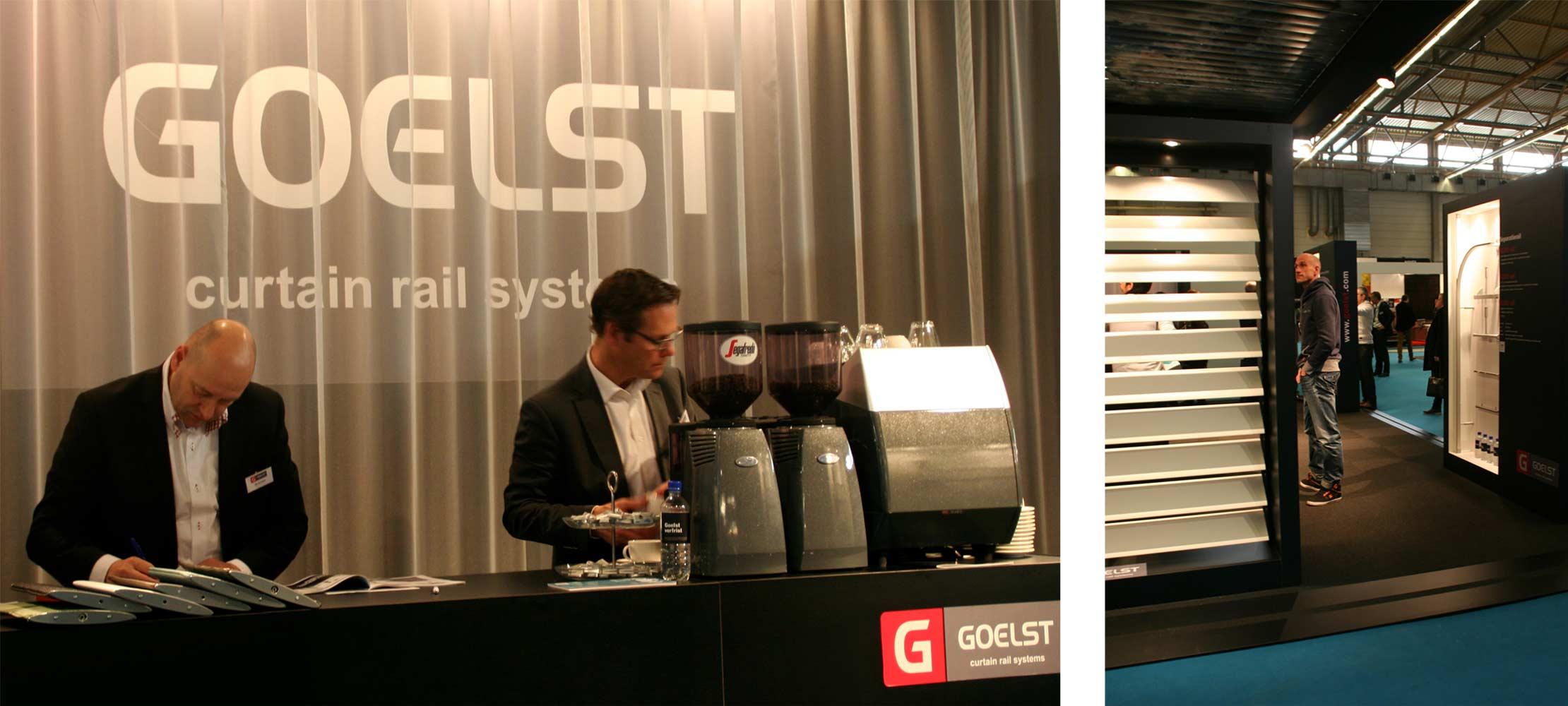 Stand Goelst - Interio beurs