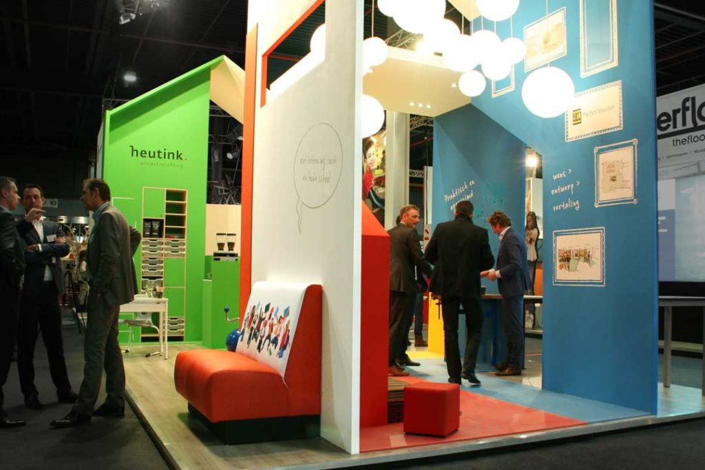 Stand Heutink projectinrichting - NOT beurs