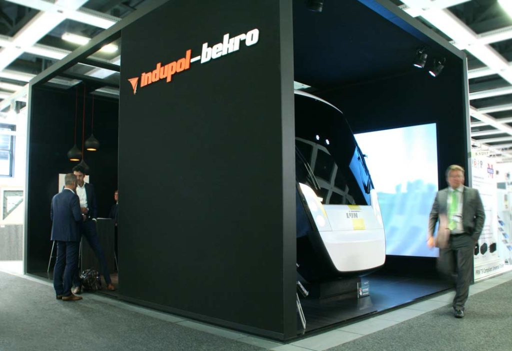Stand Indupol-InnoTrans beurs